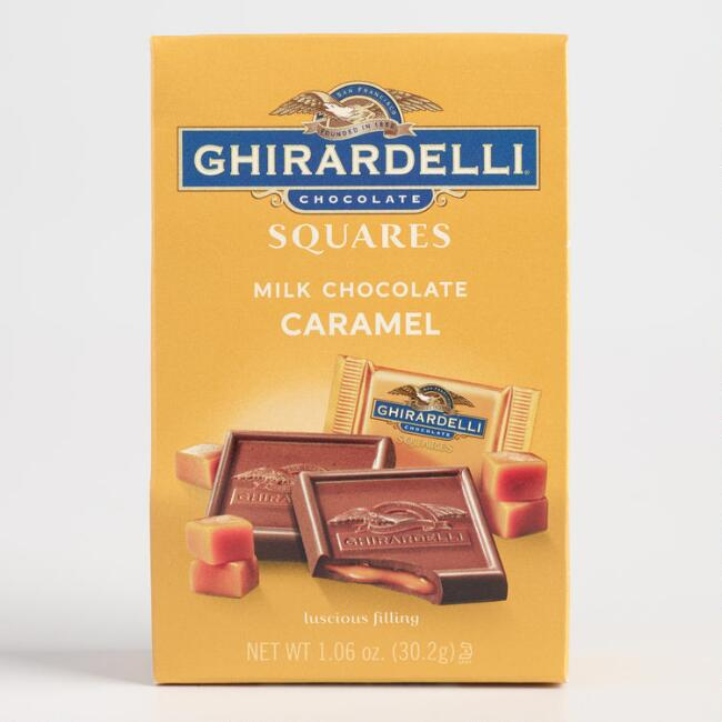 Ghirardelli Mini Milk Chocolate and Caramel Squares