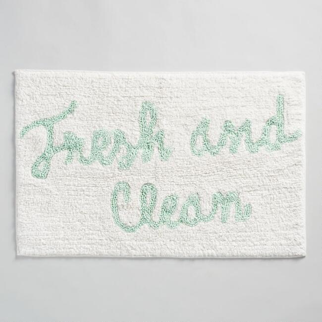 Fresh And Clean Tufted Bath Mat by World Market