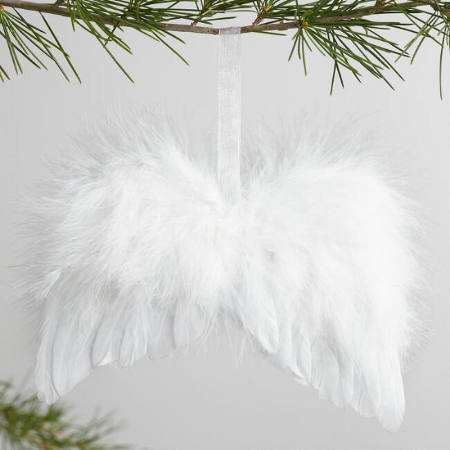 Feather Angel Wing Ornament