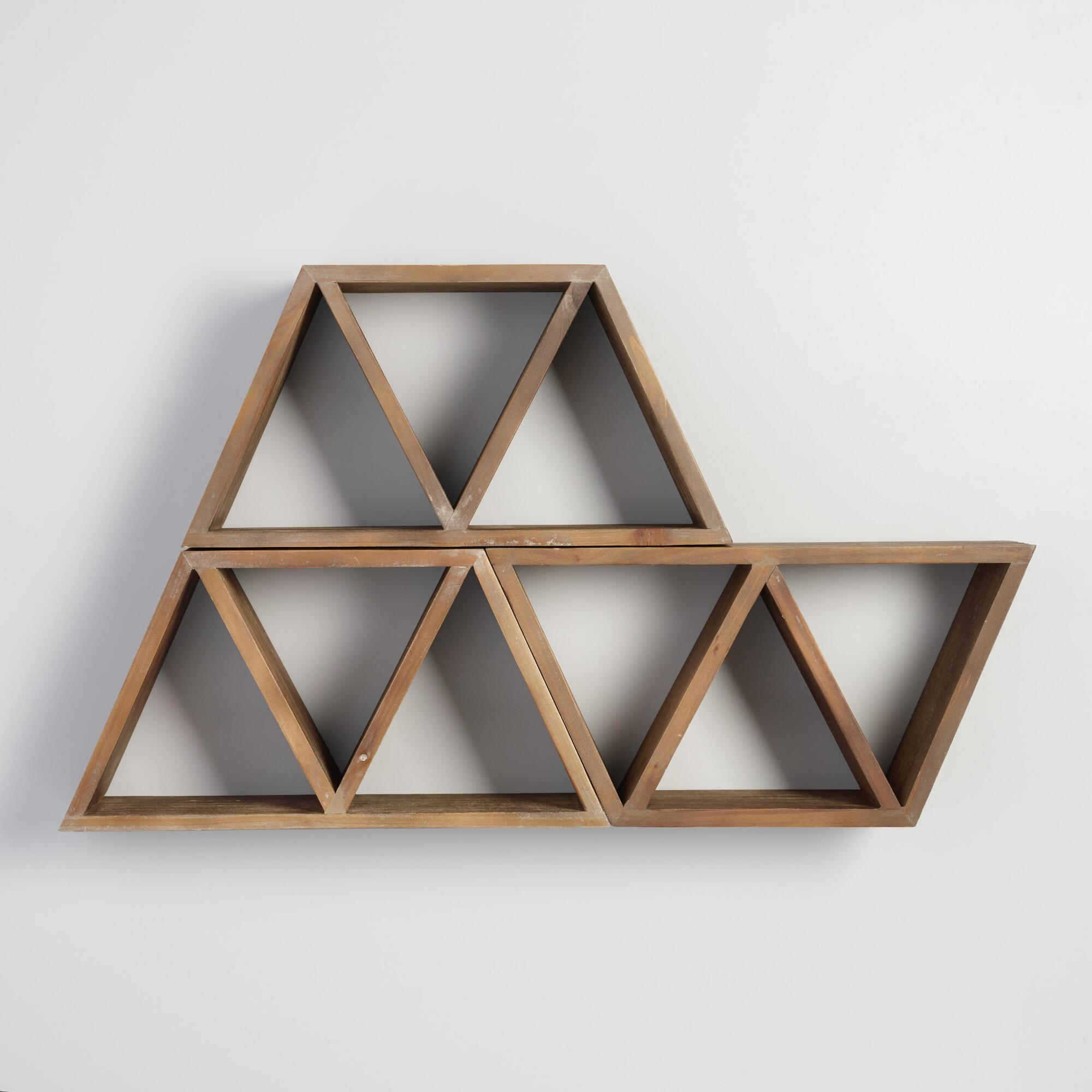 Geometric wood wall storage world market amipublicfo Gallery