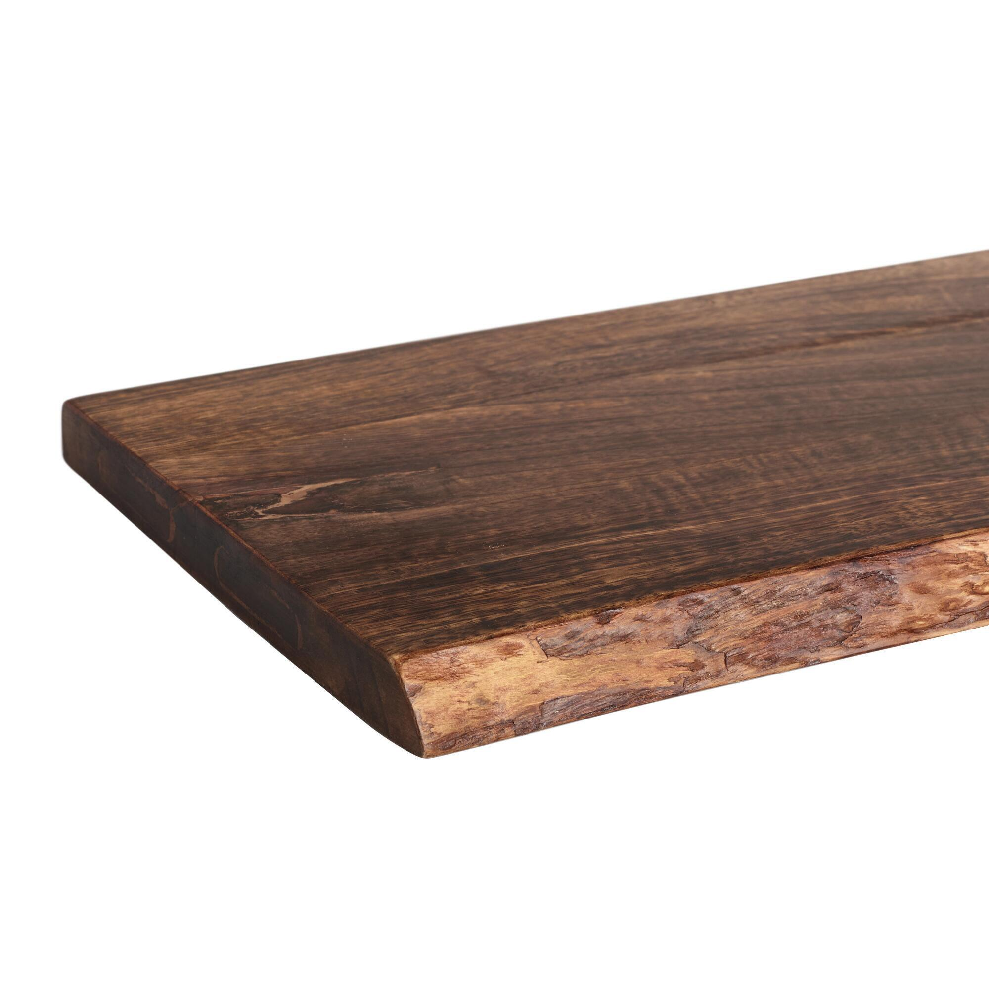 2 ft organic edge wood mix match wall shelf world market amipublicfo Gallery