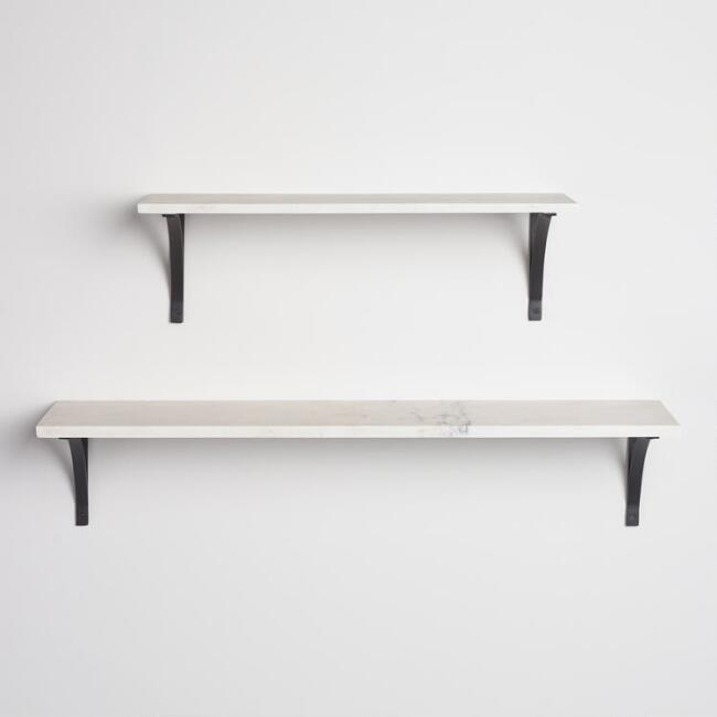 shelf hooks decorative with marble shelves mounted lip unique wall