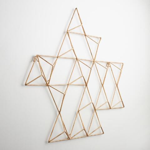Metal Jaxon Triangle Wall Art | World Market