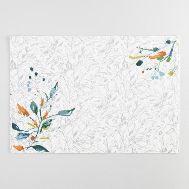 Klara Floral Placemats Set of 4