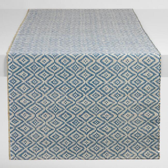 Blue Diamond Mendong Fiber Table Runner