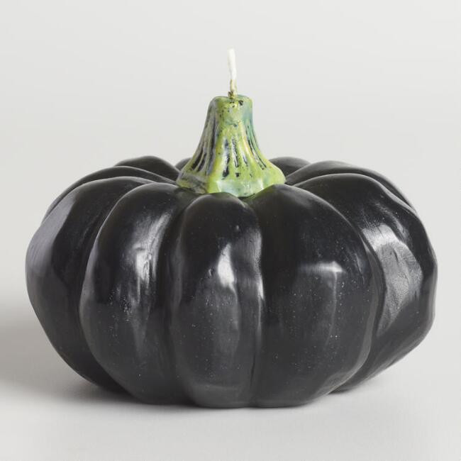Black Pumpkin Candle