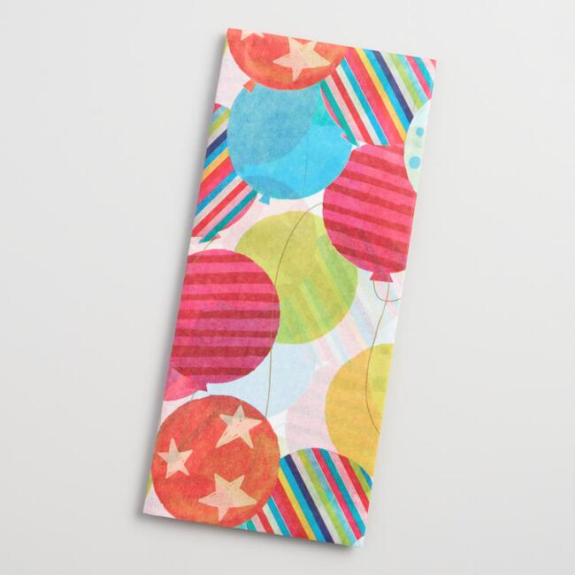 Balloons Tissue Paper Set of 2