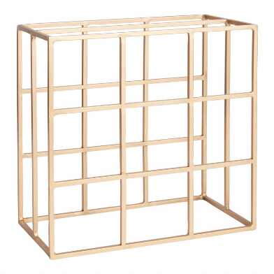 Gold Box Wine Rack