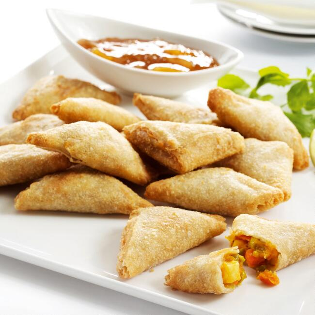 Gourmet Thai Curry Samosas 25 Count