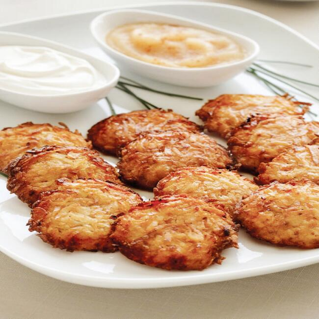 Gourmet Large Latkes 24 Count