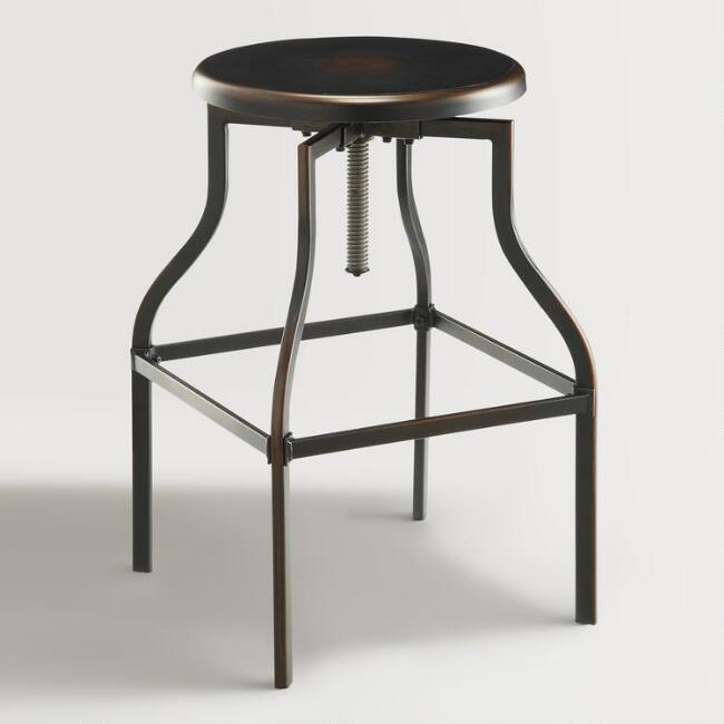 Copper Dilton Adjustable Stool