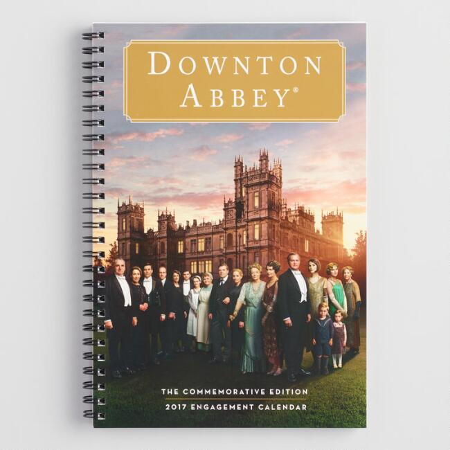 Downton Abbey Weekly  Engagement Calendar