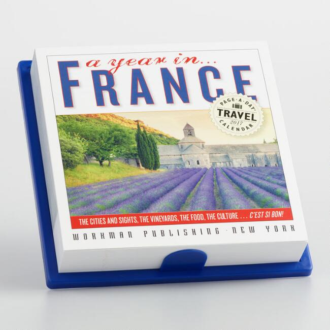 365 Days in France Page A Day Calendar