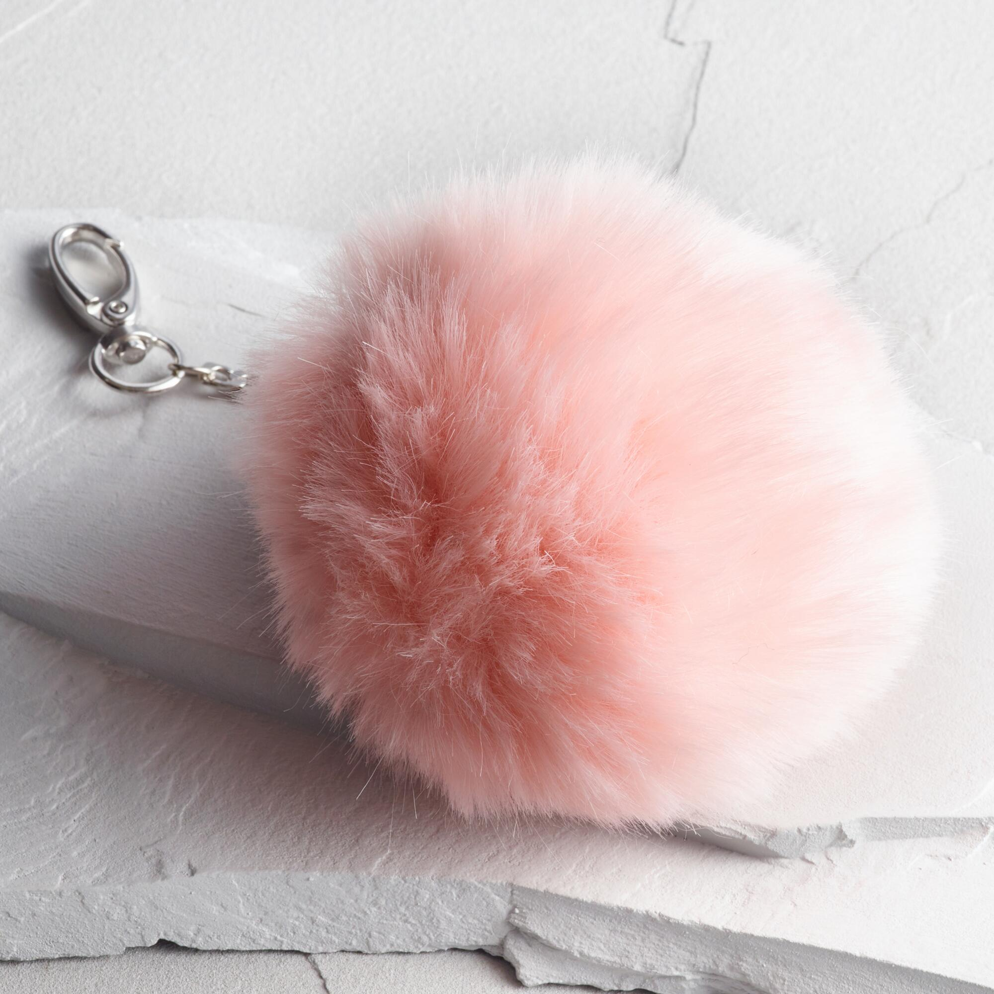 Pink Pom Handbag Charm by World Market