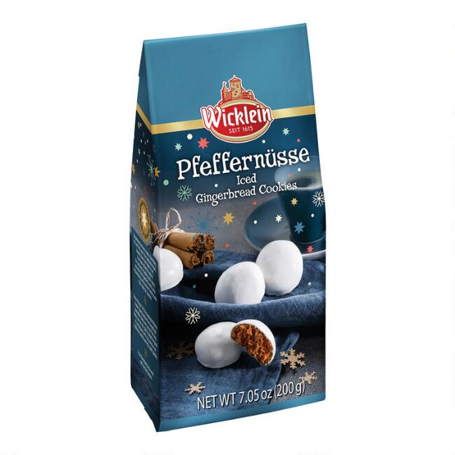 Wicklein Iced Gingerbread Pfeffernusse Cookies Set of 2