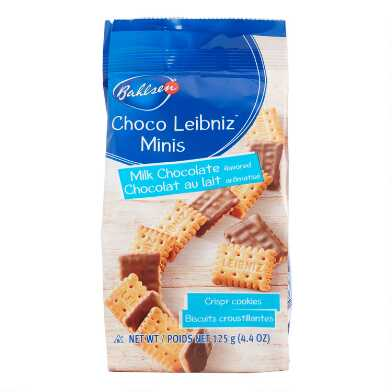 Bahlsen Leibniz Minis Milk Chocolate Cookies
