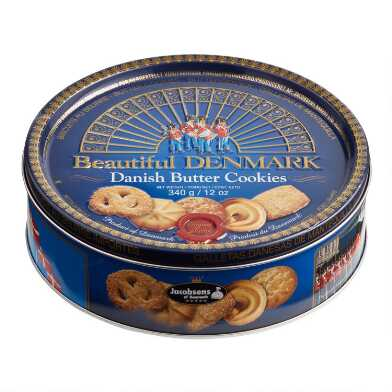 Jacobsen's Danish Butter Cookies