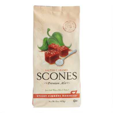 Sticky Fingers Salted Caramel Scone Mix Set Of 6