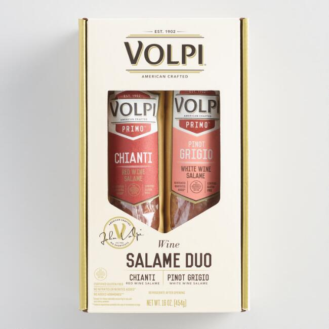 Volpi Wine Salami Duo Gift Set