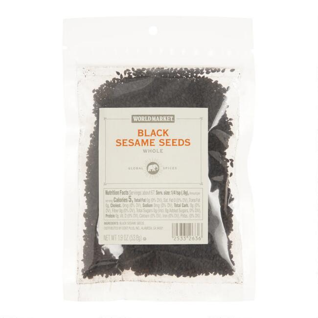 World Market® Black Sesame Seeds Spice Bag