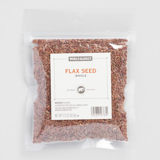 World Market® Flax Seed Spice Bag