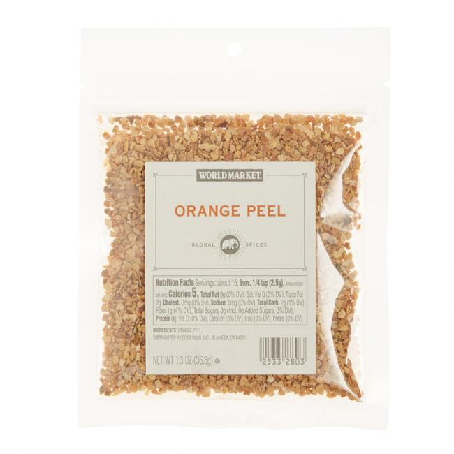 World Market® Orange Peel Spice Bag