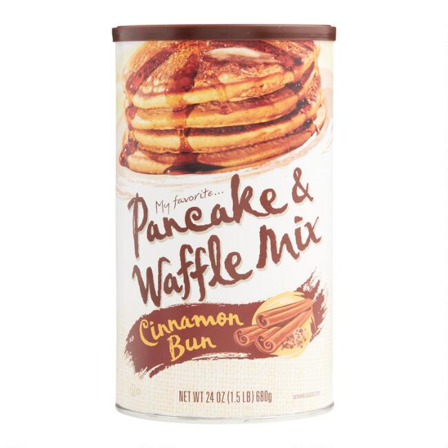 My Fav Cinnamon Bun Pancake Mix