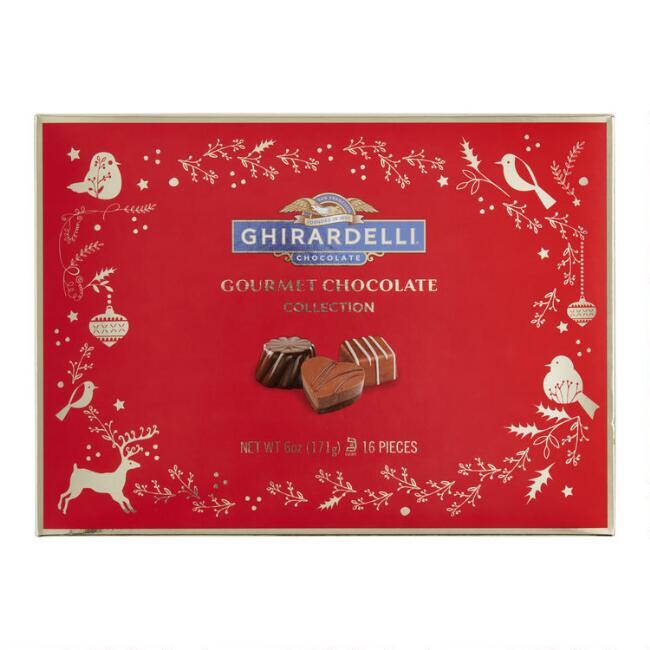 Ghirardelli Gourmet Chocolate Square Gift Box