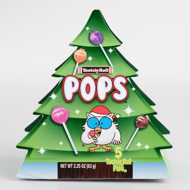 Tootsie Pop Christmas Tree Box