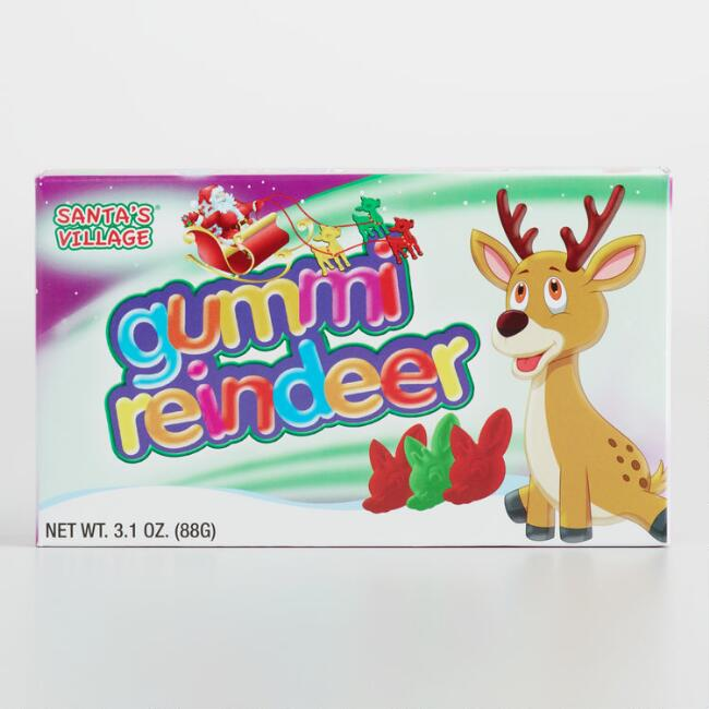 Taste of Nature Reindeer Gummies Theater Box