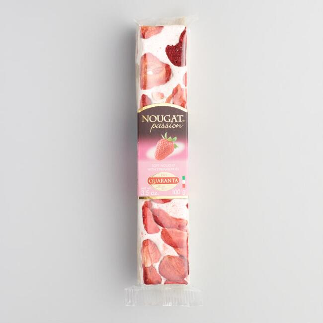 Quaranta Strawberry Torrone Stick