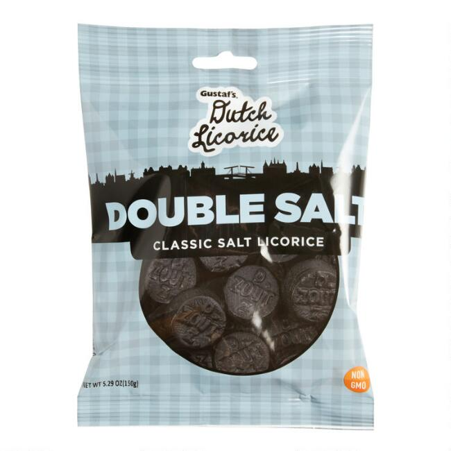 Gustaf's Double Salted Dutch Licorice