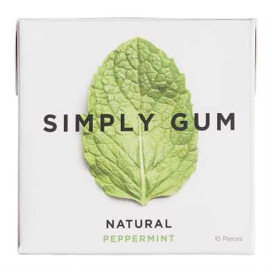 Simply Gum Mint Set of 12
