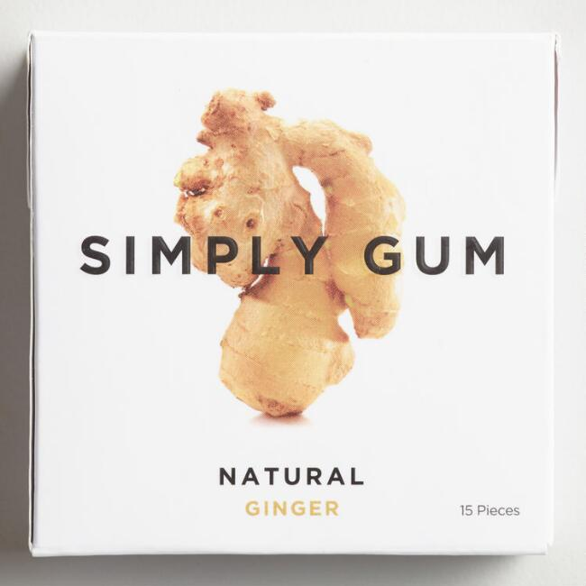 Simply Gum Ginger Set of 12