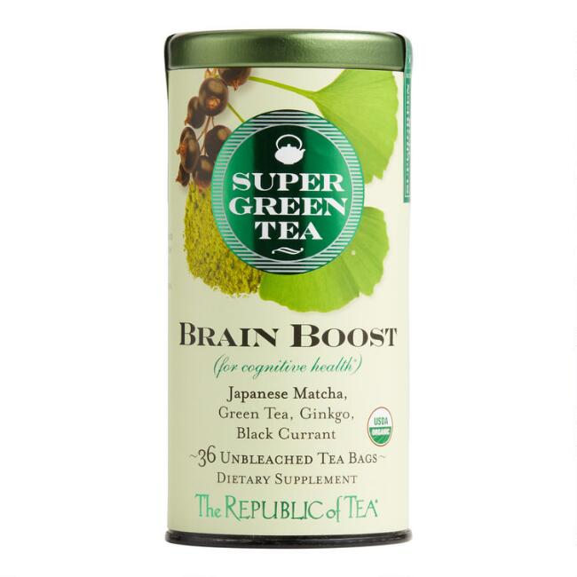 The Republic Of Tea SuperGreen Brain Boost Tea 36 Count