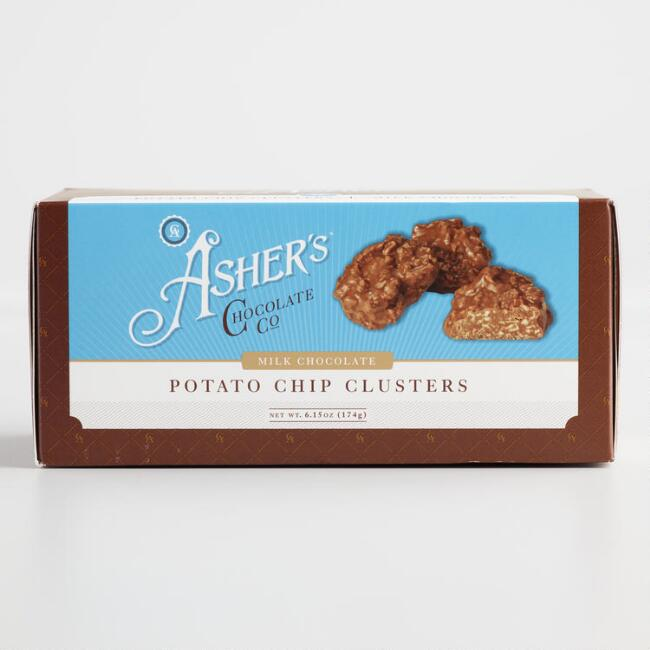 Asher's Chocolate Potato Chip Clusters