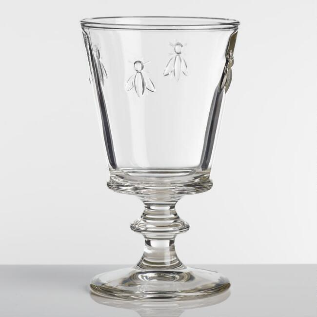La Rochere Bee Glass  Goblets Set of 4