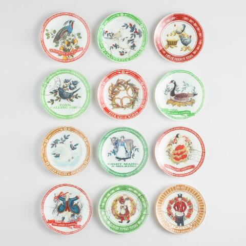 12 days of christmas plates set of 12 previous v4 v1