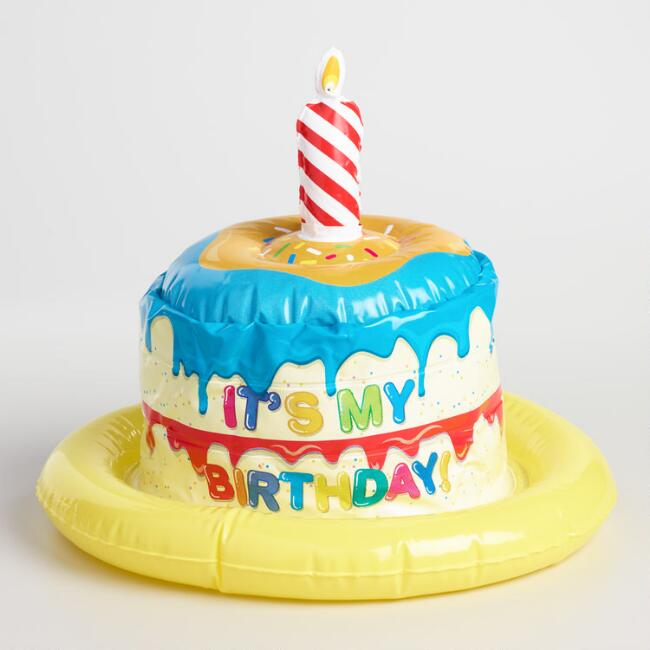 Kids Inflatable Birthday Hat