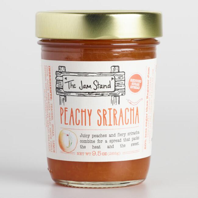 The Jam Stand Large Peachy Sriracha Jam