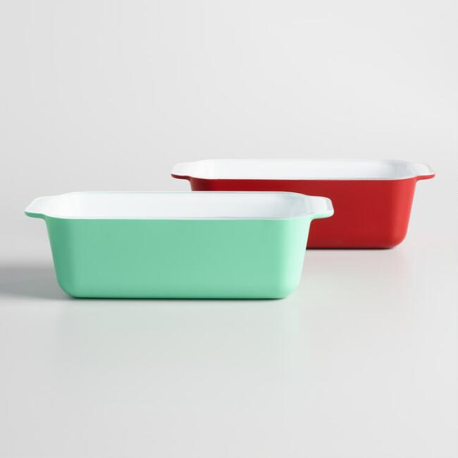 Creo SmartGlass Retro Loaf Pans Set of 2