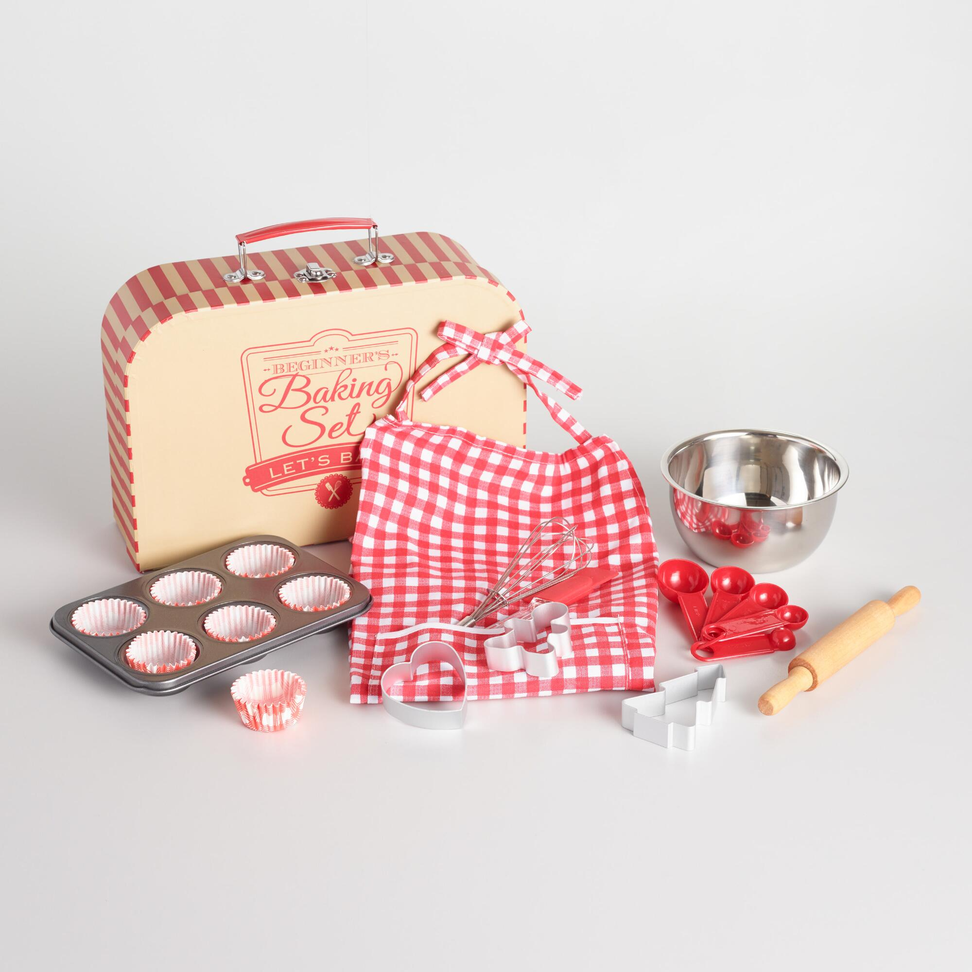 Beginner Baking Set Suitcase | World Market