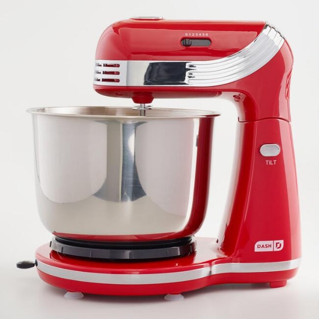 Red Dash Go Everyday Electric Mixer
