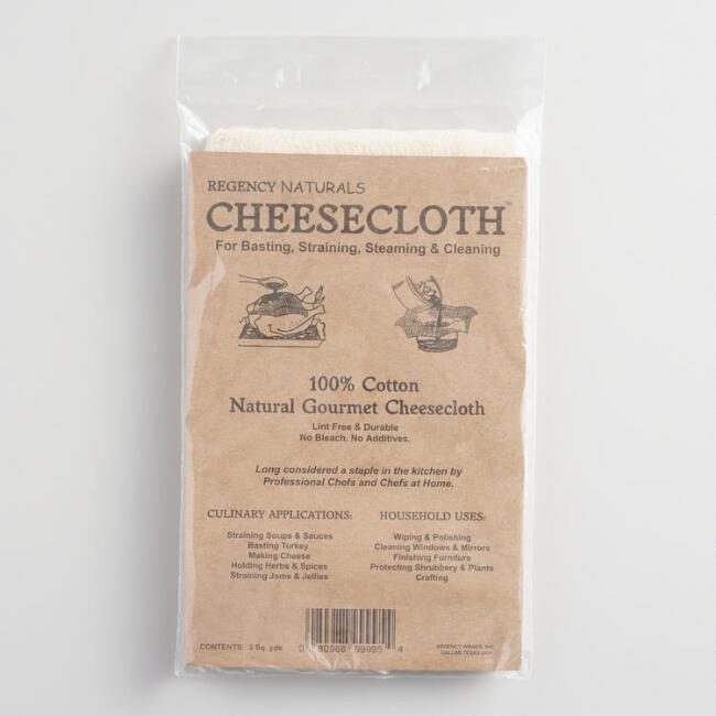 Regency Natural Ultra Fine Cotton Cheesecloth