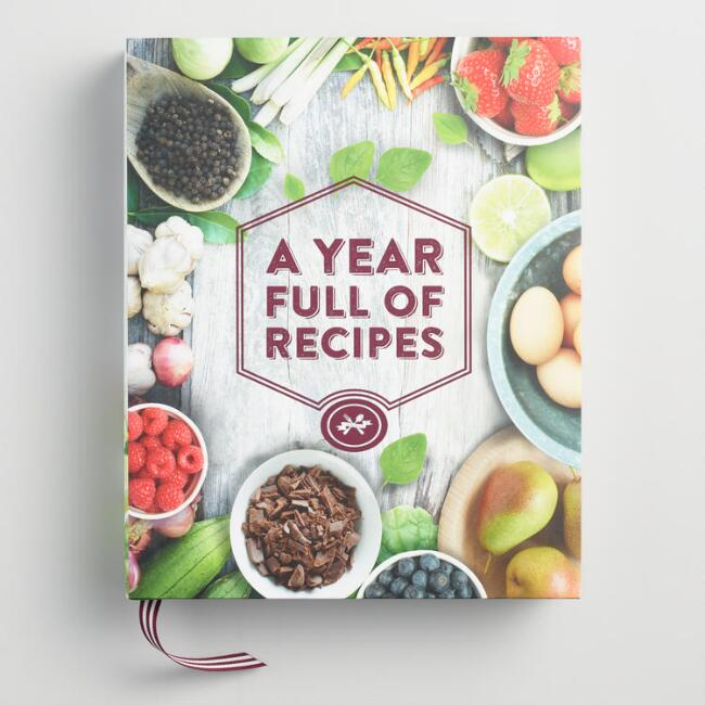 A Year Full of Recipes Cookbook