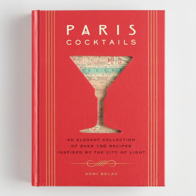 Paris Cocktails Recipe Book