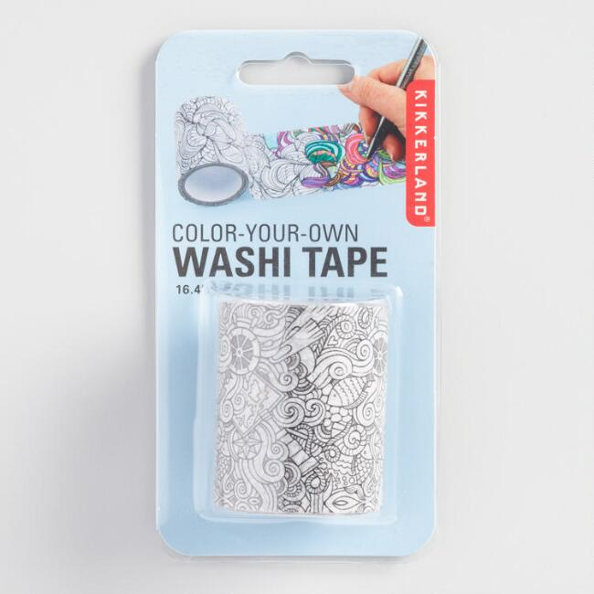 Color Your Own Washi Tape
