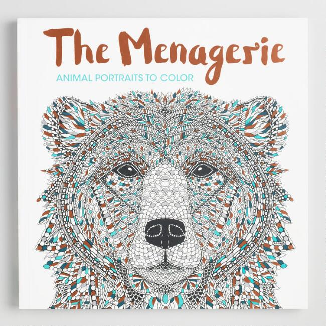 The Menagerie Coloring Book