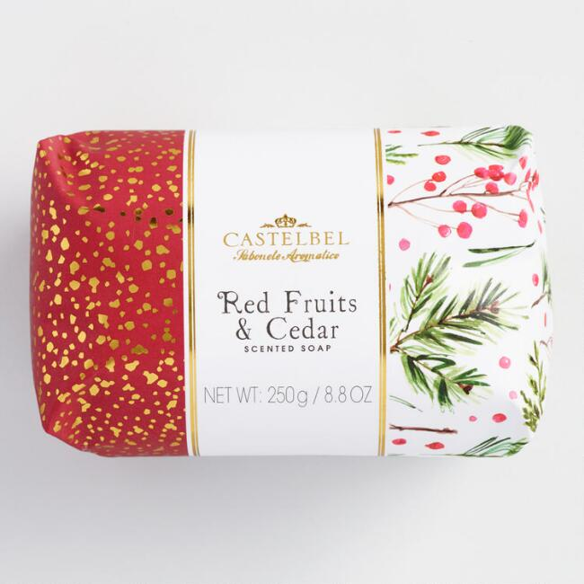 Castelbel Red Fruits and Cedar Bar Soap