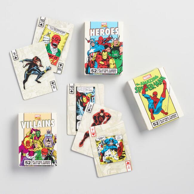 Marvel Comics Playing Card Collection